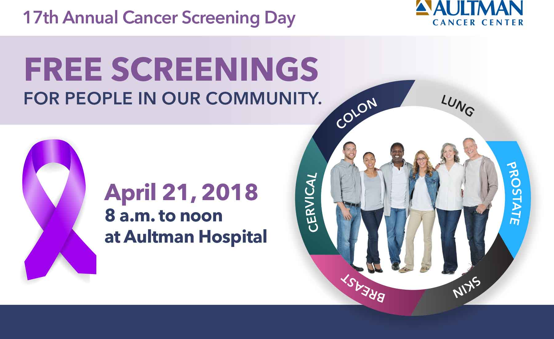 Aultman Cancer Center Offers Free Screenings Aultman