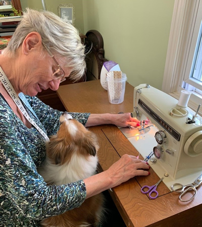 diane and friend sewing s